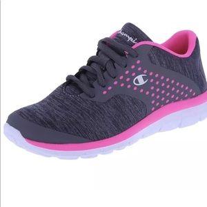 c812419ba5c1ef Champion Shoes - Champion Girls Gusto Strap X Trainer 10